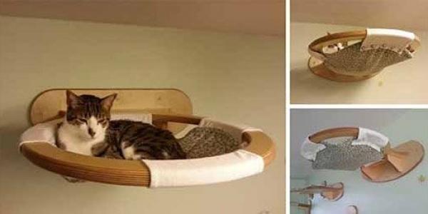 Лежанку для котенка своими руками фото 267