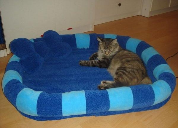 Лежанку для котенка своими руками фото 619