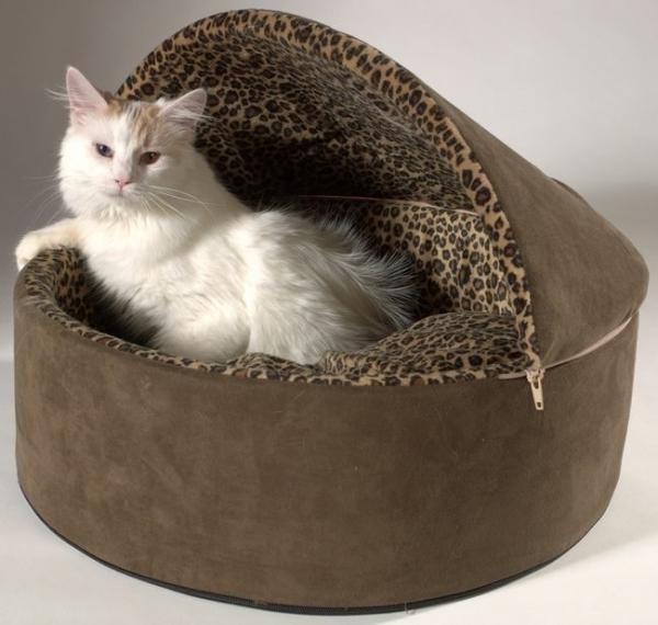 Лежанку для котенка своими руками